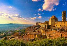 Vista panoramica di Volterra
