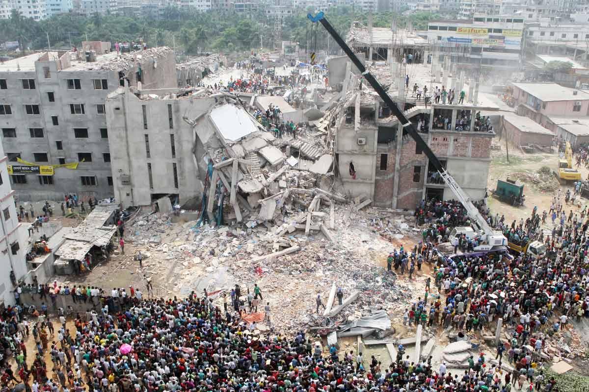 DisastroRana Plaza Bangladesh 2013