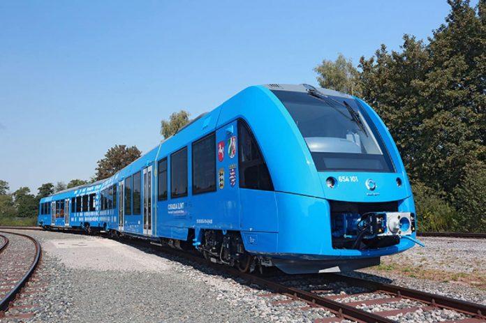 Treno a idrogeno Alstom