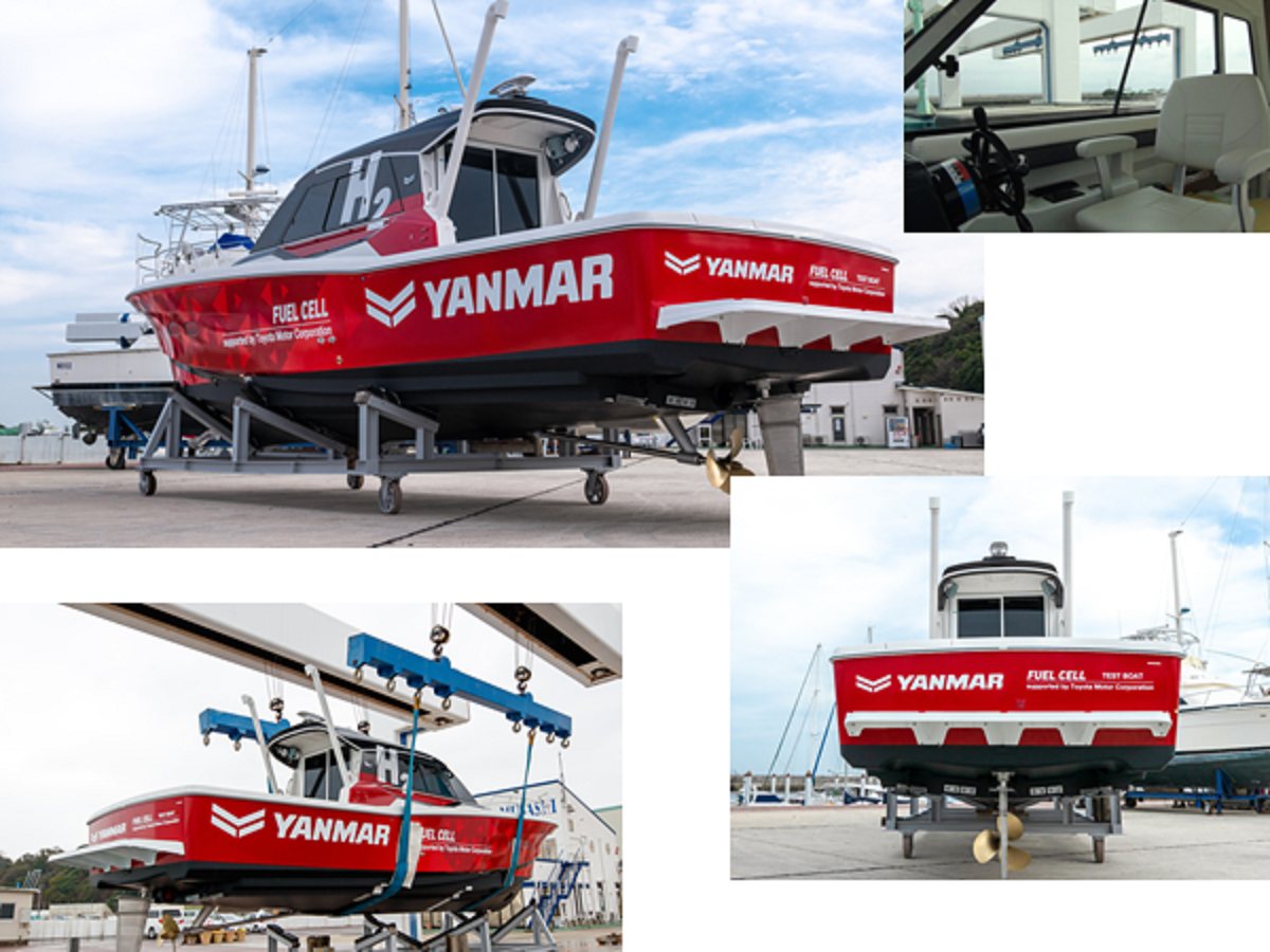 Yanmar collage foto
