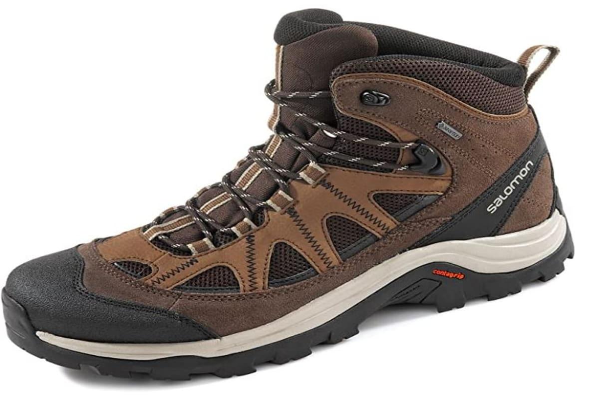 scarpe da trekking marroni