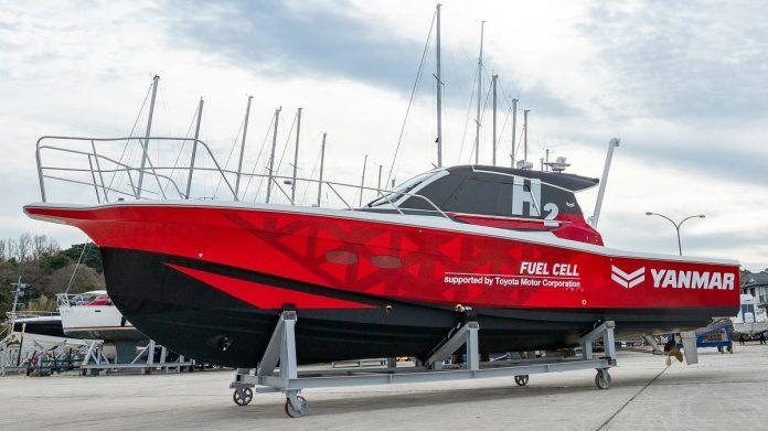 Barca ad idrogeno Yanmar
