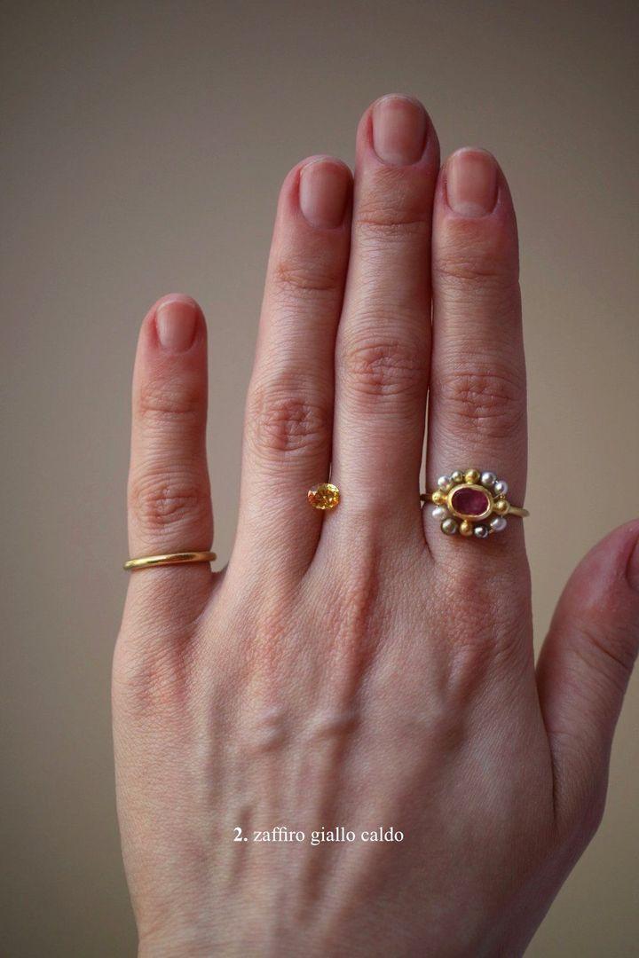 gioiello sostenibile anello bizantino maraismara