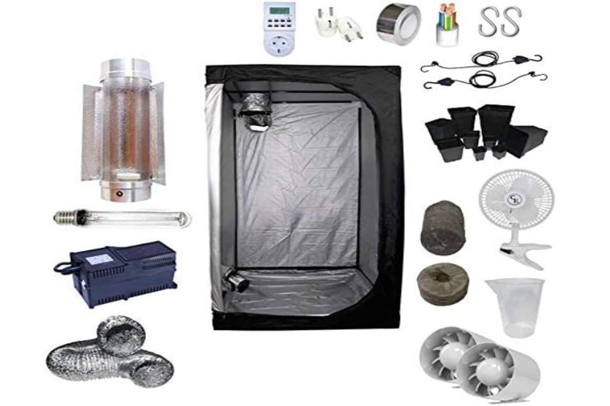 kit completo per grow box grande con accessori