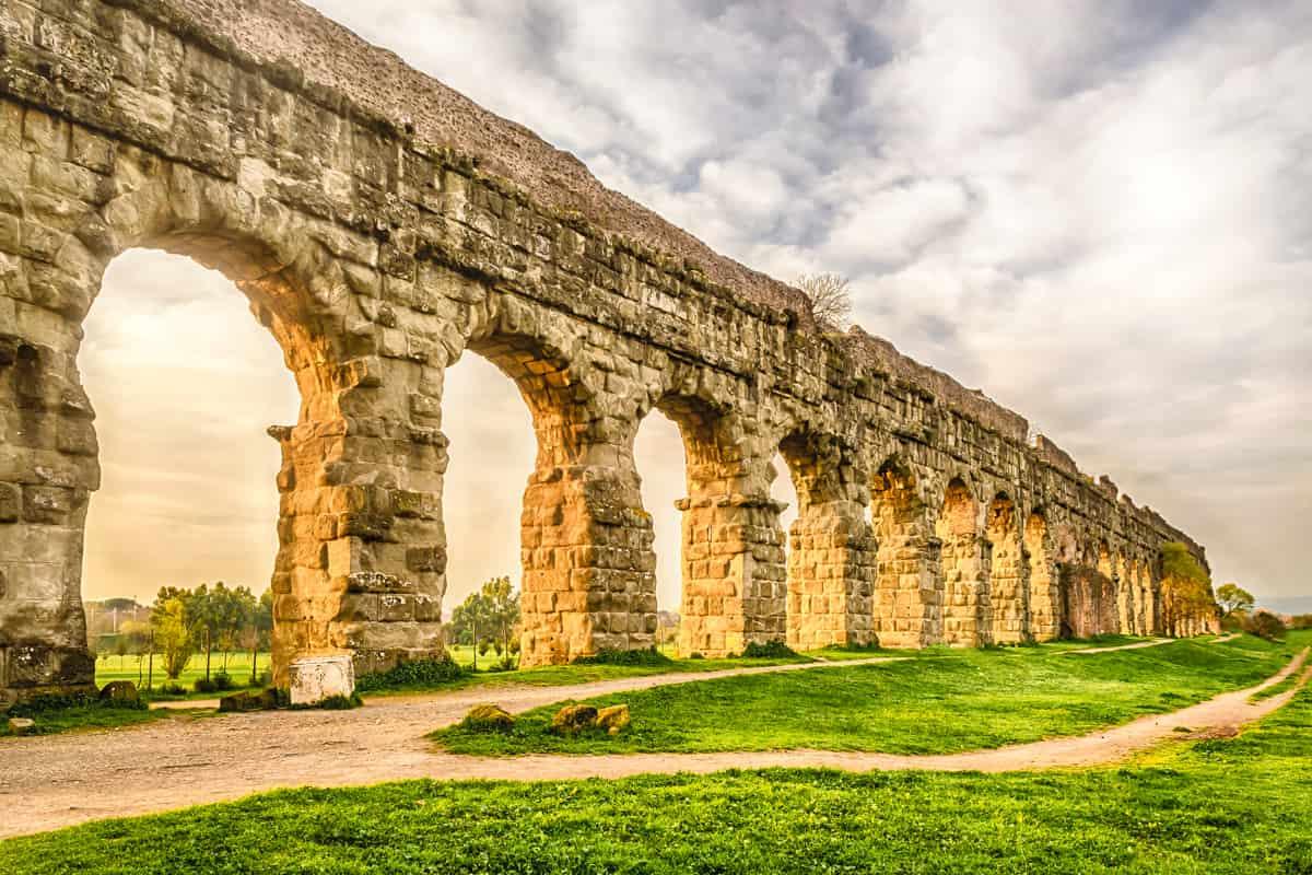 Parco degli Acquedotti a Roma