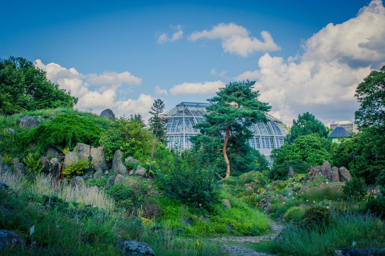paesaggio orto botanico
