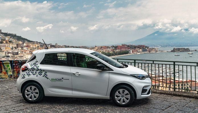 car sharing elettrico Napoli