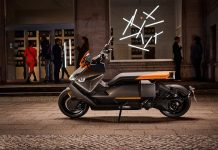 BMW CE 04 scooter elettrico