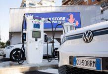 Colonnine ultra fast Enel X e VW
