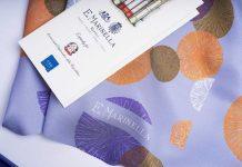 Collezione foulard sostenibili Marinella