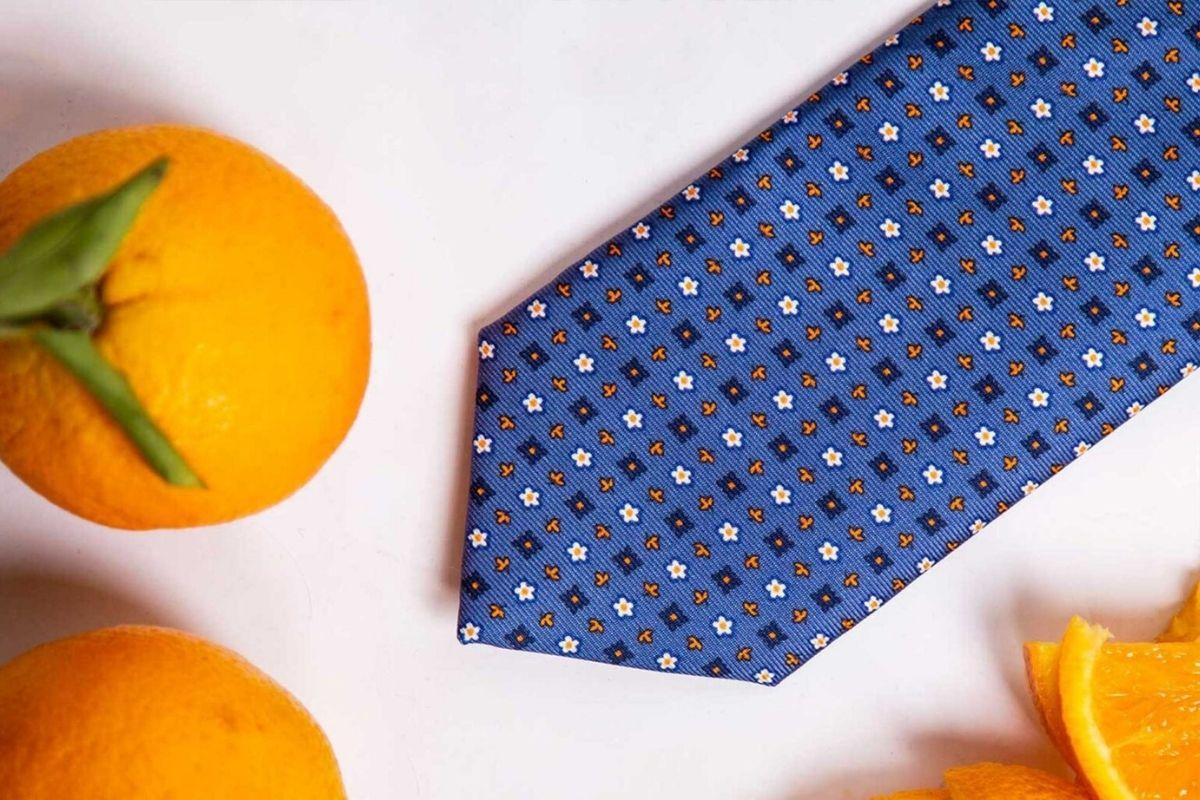 cravatte sostenibili Marinella