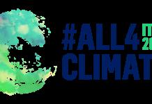 Lotta ai cambiamenti climatici ALL4CLIMATE-LOGO