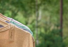 vestiti organici per moda sostenibile
