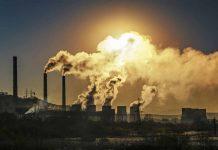 Emissioni di gas serra nell'aria