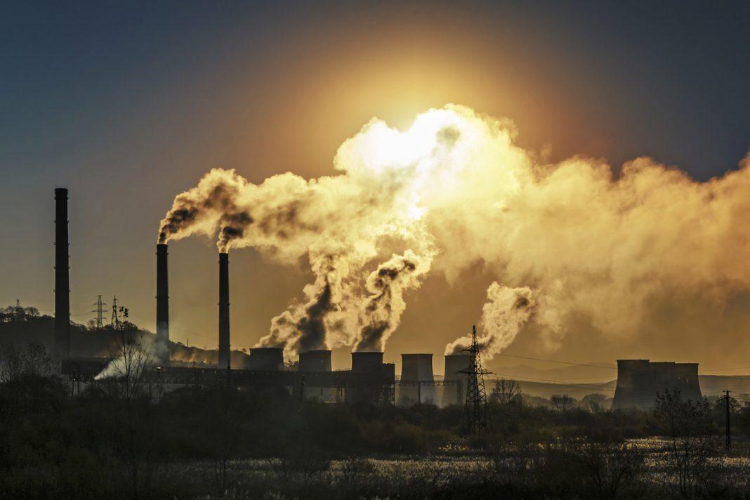 Emissioni di gas serra nell'atmosfera