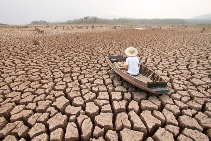 Riscaldamento globale terra inospitale