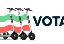 Votare in monopattino