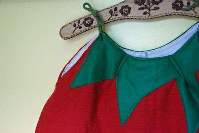Costume da pomodoro