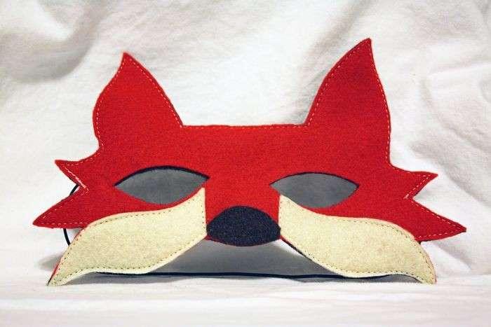 Maschera da volpe